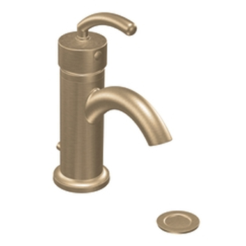 Moen S6500BB Icon Single-Handle Centerset Lavatory Faucet Brushed Bronze
