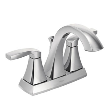 Moen 6901 Voss Two Handle Centerset Lavatory Faucet - Chrome