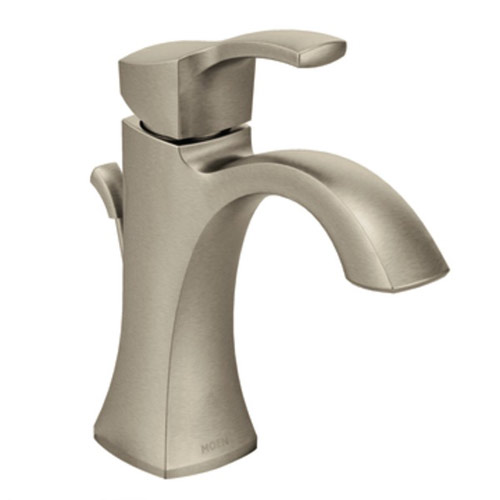 Moen 6903BN Voss Single Handle High Arc Lavatory Faucet - Brushed Nickel