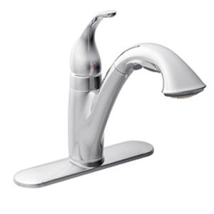 Moen 7545C Camerist Single Handle Pullout Kitchen Faucet   Chrome
