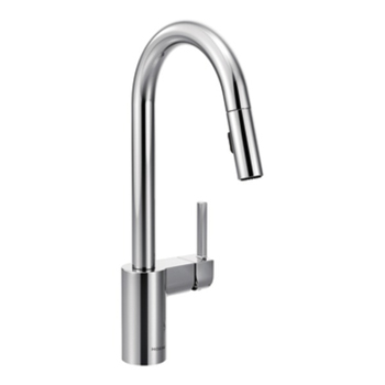 Moen 7565 Align Single Handle High Arc Pulldown Kitchen Faucet - Chrome