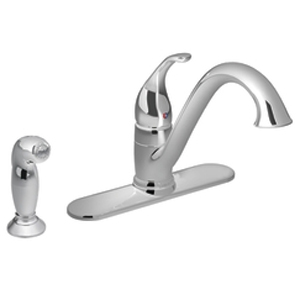 Moen 7840 Camerist Single-Handle Kitchen Faucet with Side Spray Chrome
