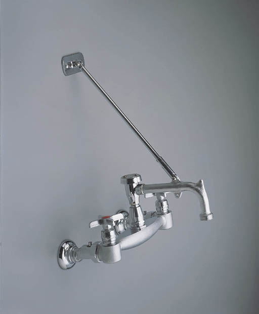 Moen 8124 Commercial 2 Handle Service Sink Faucet - Chrome ...