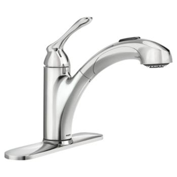 Delta Faucet Vuelo Single Handle Hi Arch Pull Out Kitchen Faucet