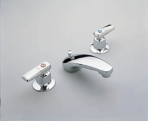 Moen 8924 Commercial Two Handle Widespread Lavatory Faucet Chrome
