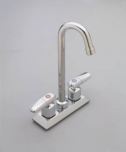 Moen 8957 Commercial Two Handle Bar Faucet Chrome