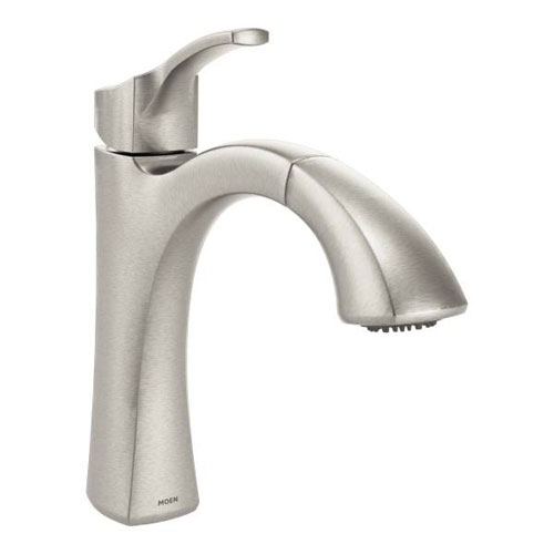 Moen 9125SRS Voss Single Handle High Arc Pulldown Kitchen Faucet - Spot Resist Stainless