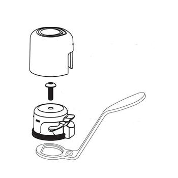 moen 93971 kitchen handle assembly chrome faucetdepot com moen replacement parts faucet assembly diagram gooseneck