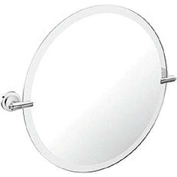 Moen DN0792BN Iso Mirror with Decorative Hardware Brushed Nickel (Pictured in Chrome)