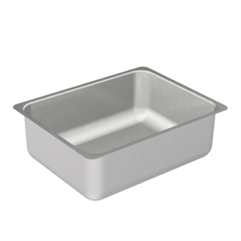 Moen G20193 2000 Series 20 Gauge Single Bowl Undermount Kitchen Sink - Stainless Steel