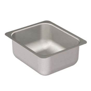 Moen G204502 2000 Series 20 Gauge Single Bowl Undermount Kitchen Sink - Stainless Steel