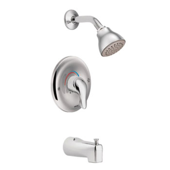 Moen L2353 Chateau Posi-Temp Single Handle Tub/Shower - Chrome
