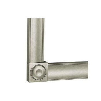 Moen MC2000BN Creative Specialties Mirrorscapes 2000 Series Decorative Frame Corners - Brushed Nickel
