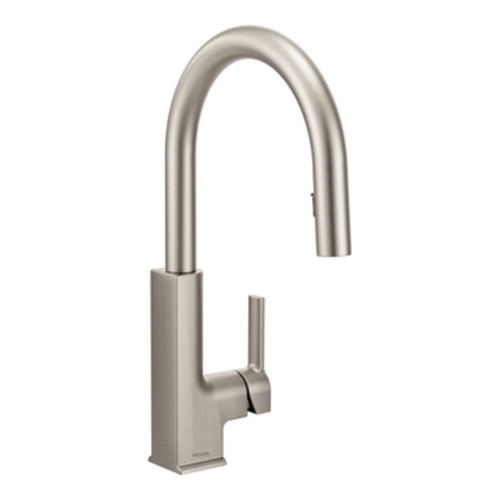 Moen S72308SRS STo Single Handle High Arc Pulldown Kitchen Faucet - Spot Resist Stainless