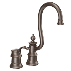 Moen ShowHouse S611ORB Waterhill Single Handle Bar/Prep Faucet Oil Rubbed Bronze