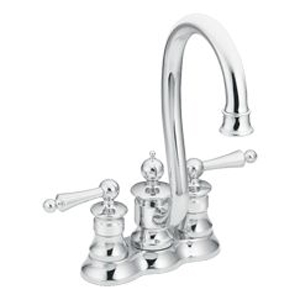 Moen ShowHouse S612 Waterhill Two Handle Bar/Prep Faucet Chrome