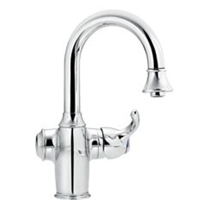 Moen ShowHouse S628C Woodmere Single Handle Bar/Prep Faucet Chrome