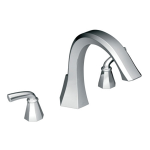 Moen ShowHouse TS243 Felicity Roman Tub Faucet Trim Chrome