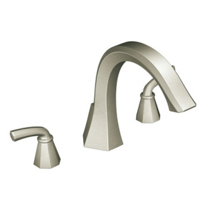 Moen ShowHouse TS243BN Felicity Roman Tub Faucet Trim Brushed Nickel