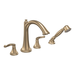 Moen ShowHouse TS294BB Savvy Roman Tub Trim with Hand Shower Brushed Bronze