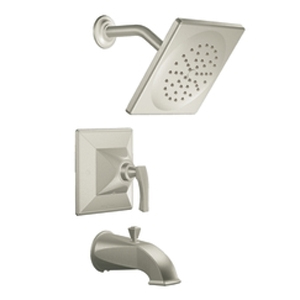 Moen ShowHouse TS354HN Posi-Temp Single Handle Tub/Shower Trim Hammered Nickel