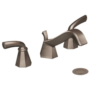 Moen ShowHouse TS447ORB Felicity Two Handle Widespread Lavatory Faucet Oil Rubbed Bronze