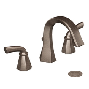Moen ShowHouse TS448ORB Felicity Two Handle Widespread Lavatory Faucet Trim Oil Rubbed Bronze