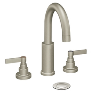 Moen ShowHouse TS478BN Solace Two Handle Lavatory Widespread Faucet Trim Brushed Nickel