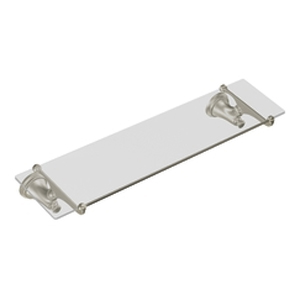Moen ShowHouse YB9490BN Savvy Glass Shelf Brushed Nickel