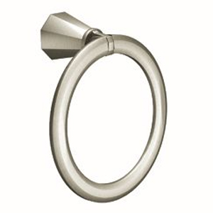 Moen ShowHouse YB9786BN Felicity Towel Ring Brushed Nickel