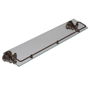 Moen ShowHouse YB9899ORB Waterhill Glass Shelf with Pivoting Railing Oil Rubbed Bronze