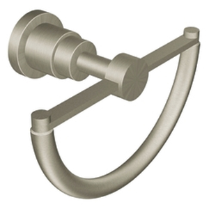Moen showhouse yb9986bn solace towel ring brushed nickel for Showhouse faucets