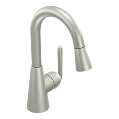 Moen Showhouse S61708CSL Ascent Single Handle Pullout Prep Faucet - Classic Stainless