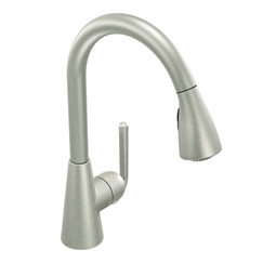 Moen Showhouse S71708CSL Ascent Single Handle/Hole Pullout Kitchen Faucet - Classic Stainless