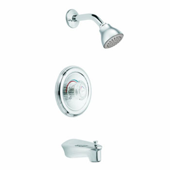Moen T172 Legend Moentrol Single Handle Tub/Shower Trim - Chrome