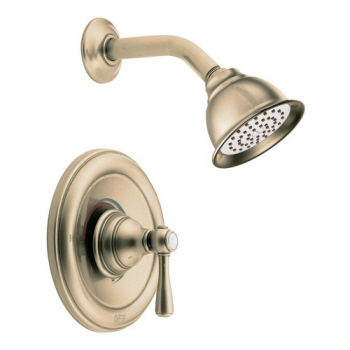 Moen T2112AZ Kingsley Posi-Temp(R) Single Handle Shower Trim Antique Bronze