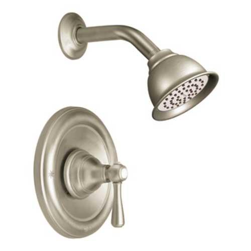 Moen T2112BN Kingsley Posi Temp(R) Single Handle Shower Trim   Brushed  Nickel