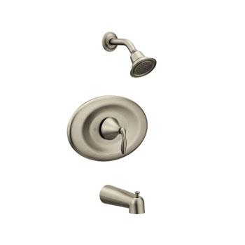 Moen T2137EPBN Eva Posi-Temp Tub/Shower Trim - Brushed Nickel