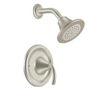 Moen TS2142BN Icon Single Handle Posi-Temp(R) Shower Trim - Brushed Nickel