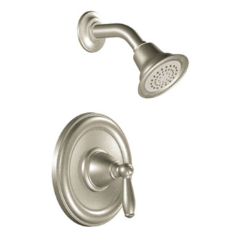 Moen T2152BN Brantford Posi-Temp(R) Single Handle Shower Trim - Brushed Nickel