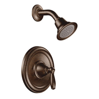 Moen T2152ORB Brantford Posi-Temp(R) Single Handle Shower Trim - Oil Rubbed Bronze