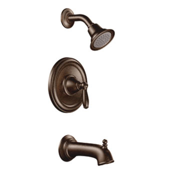 Moen T2153ORB Brantford Posi-Temp(R) Single Handle Tub/Shower Trim - Oil Rubbed Bronze