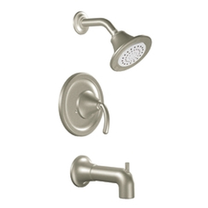 Moen TS2156BN Single Handle Moentrol Tub/Shower Faucet Trim Brushed Nickel