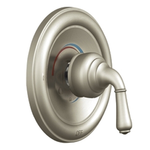 Moen T2442BN Monticello Posi-Temp(R) Single Handle Tub/Shower Valve Trim Brushed Nickel