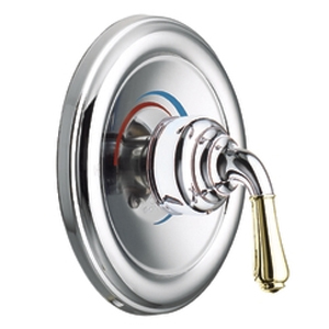 Moen T2442CP Monticello Posi-Temp(R) Single Handle Tub/Shower Valve Trim Chrome/Polished Brass