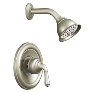 Moen T2444BN Monticello Posi-Temp(R) Single Handle Shower Trim Brushed Nickel