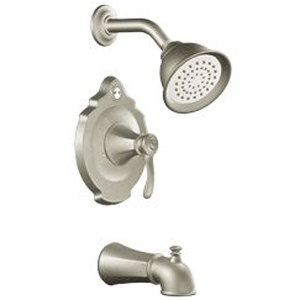 Moen T2503BN Vestige Single Handle Posi-Temp(R) Tub/Shower Trim Brushed Nickel