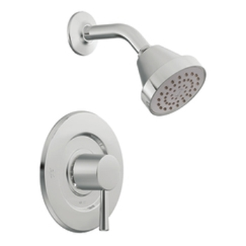 Moen T2702 Level Posi-Temp(R) Single Handle Shower Trim Chrome