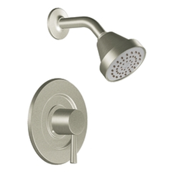 Moen T2702BN Level Posi-Temp(R) Single Handle Shower Trim Brushed Nickel