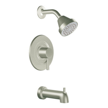 Moen T2703BN Level Posi-Temp(R) Single Handle Tub/Shower Trim Brushed Nickel
